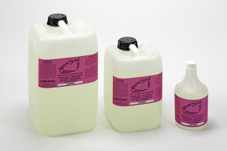 Ski wax Ancorsciol - lubricant, antioxidant Image